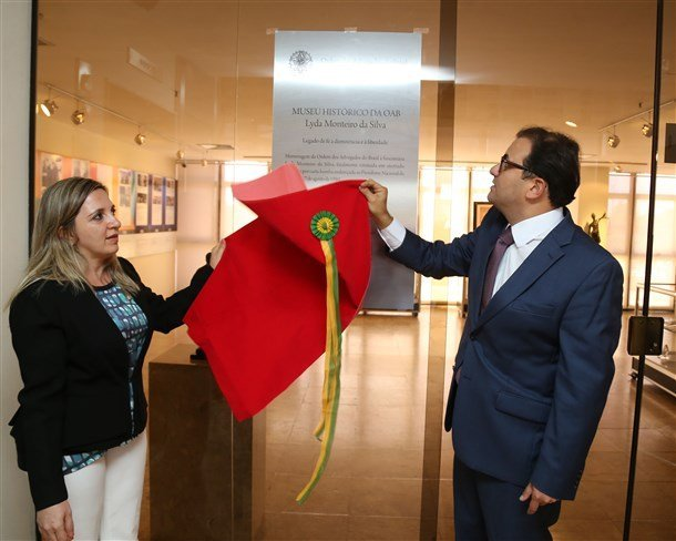 35 anos da Carta Bomba: Museu da OAB ganha nome de Lyda Monteiro (Foto: Eugenio Novaes - CFOAB)