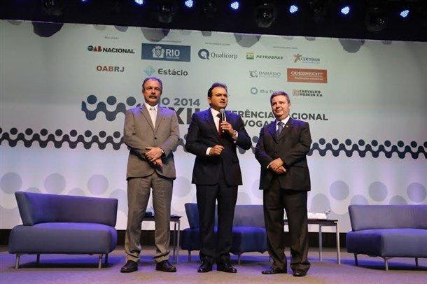 OAB Nacional promove debate propositivo entre Mercadante e Anastasia  (Foto: Eugenio Novaes - CFOAB)